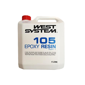 Z105 Epoxy Resin (Part A) - 4 Litre
