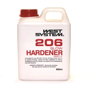 Z206 Epoxy Resin Slow Hardener  (Part B) - 800mls