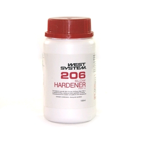 Z206 Epoxy Resin Slow Hardener  (Part B) - 100mls (5:1)