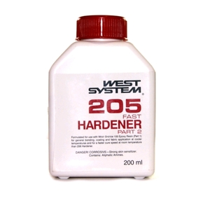 Z205 Epoxy Resin Fast Hardener  (Part B) - 200mls (5:1)