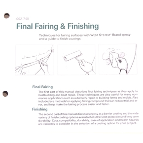 Final Fairing and Finishing Booklet
