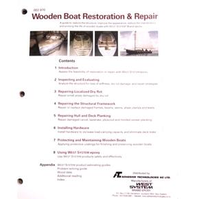 Wooden Boat Restoration & Repair Booklet
