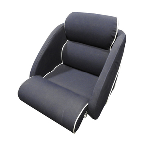 Sunbrella Super Deluxe Seat w/Flip Up and Alloy Frame - Navy (1 only)