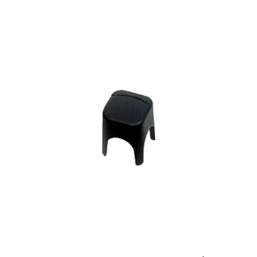 Single Insulated Battery Stud Cover - 6mm - Black