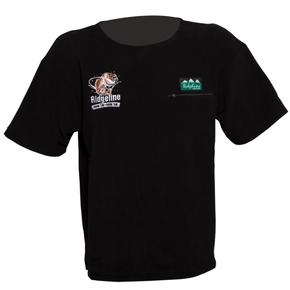 Snapper Mens Fleece Zip Pocket Tee T-Shirt - Black / Medium