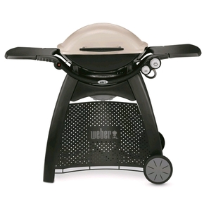 Family Q Q3100 BBQ - LPG Grill / Gas Barbecue with Trolley - Titanium