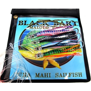 Malolo 4 Pack Micro Rigged Game Lure Pack Brat/Demon/Bully/Sushi