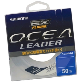 Ocea EX Fluorocarbon Leader 10lb x 50m