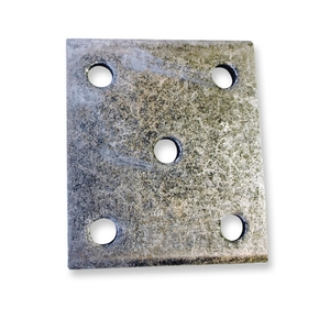 Trailer Wobble Roller Clamp Plate for 50mm Chassis (each)