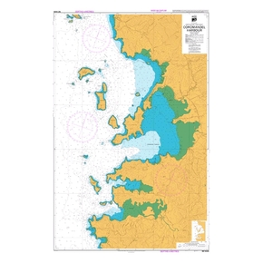 NZ 5328 Hydrographic Nautical Chart- Coromandel Harbour