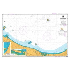 NZ 542 Hydrographic Marine Chart- Motiti Island to Pehitari Pt.