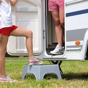 Portable Motorhome Seat/Step
