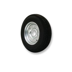 "Galv. 5 Stud 4.5"" PCD Trailer Wheel Rim 13"" x 5"" w/Tyre  - 8 ply"