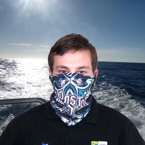 Monster Game Sun Mask