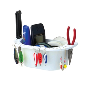 Suction Cup or Screw Cockpit Organiser w/Lure Holders