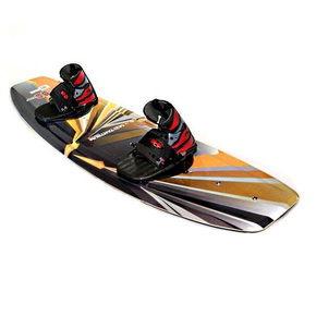 Wakeboard Package with Deluxe Bindings - Cosmetic blemishes