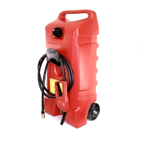 Duramax Wheeled Fuel Can w/Hand Pump - 53 Litres