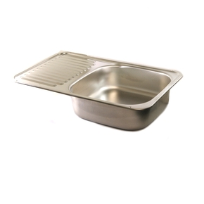 Stainless Steel Sink with Drainer Tray- 590w x 370dmm