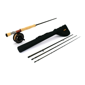 Dragonfly #6 Weight Fly Fishing Rod & Reel