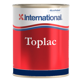 Toplac Silicone Enamel - Oxford Blue - 1 Litre