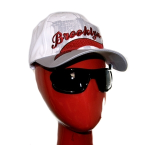 Adult Cap with Flip Down Sunglasses - Brooklyn Grey