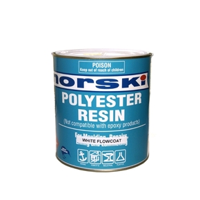 Polyester Reson Flowcoat White - 1kg