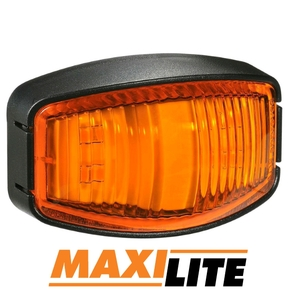LED Amber Marker Light with 40cm Cable