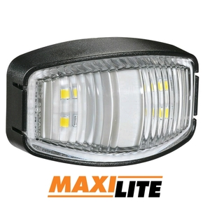 LED White Marker Light with 400mm Cable 10-30v