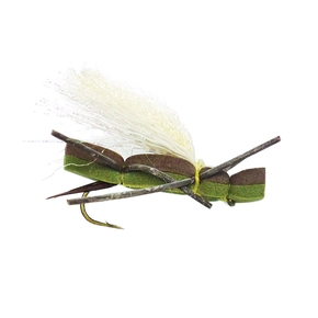 Foam Cicada Freshwater Trout Dry Fly / #B10 Hook (Each)