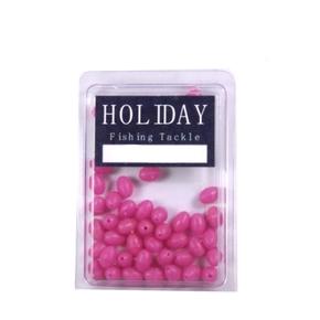 Soft Pink Lumo Beads 6mm 42-Pk