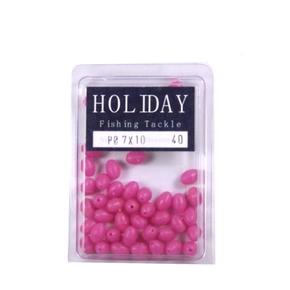 Soft Pink Lumo Beads 7x10mm 32-Pk