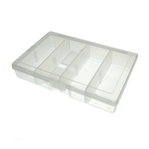 1 Tray Small Utility Tackle Bait Box Small 12.5cm x 8cm