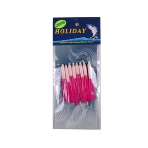 Needle Lure Skirt - 6.5cm - Pink/Lumo - 5 Pack