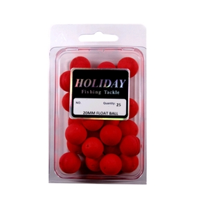 Float Ball - Red - 18mm - 25 Pack