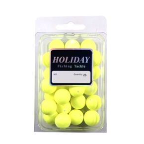 Float Ball - 20mm - Yellow - 25 Pack
