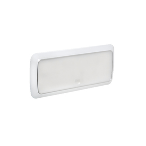 Surface Mt Low Profile Oblong 9-33v LED Ceiling Light - Touch On/Off/Dim Switch
