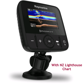 Dragonfly 4 Pro GPS Fishfinder  & Chart 4.0""