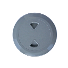"Deluxe ABS Italian 5"" Inspection Port Grey"