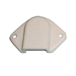 White Cable Outlet Cover 48x32mm