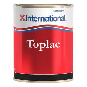 Toplac Silicone Enamel - Jet Black - 500mL