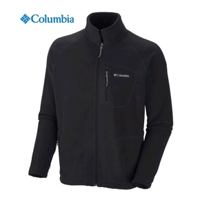 Fast Trek II Mens Full Zip Fleece Jacket - Black / Medium
