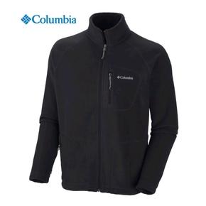 Fast Trek II Mens Full Zip Fleece Jacket - Black / XL