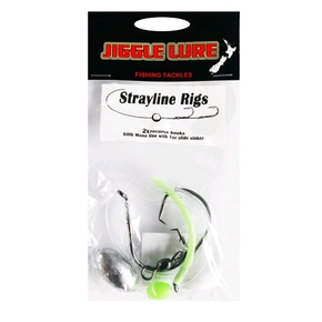 Strayline Rig Single Pack with Slider Sinker 7/0