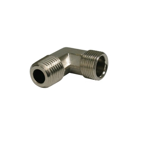 "Hydraulic Steering Elbow Fitting 1/4"" NPT male - 3/8 tube"""