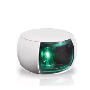 NaviLED Starboard Navigation Lamp - White with Green Lens