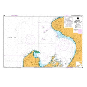 NZ48 Hydrographic Nautical Chart- Western Approaches to Cook Straight