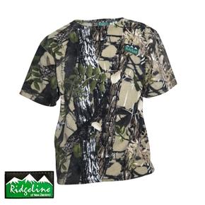 Classic Workmans Tee Fleece T-Shirt - Buffalo Camo / Mens Small