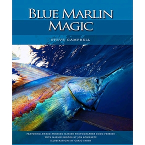 Blue Marlin Magic Hardcover Fishing Book