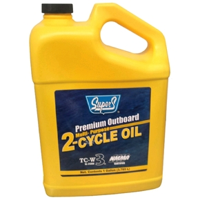 TC-W3 Premium 2 Stroke (Cycle) Outboard Motor Oil -3.78L