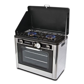 SS Portable Oven & 2 Burner (Outdoor Use Only)